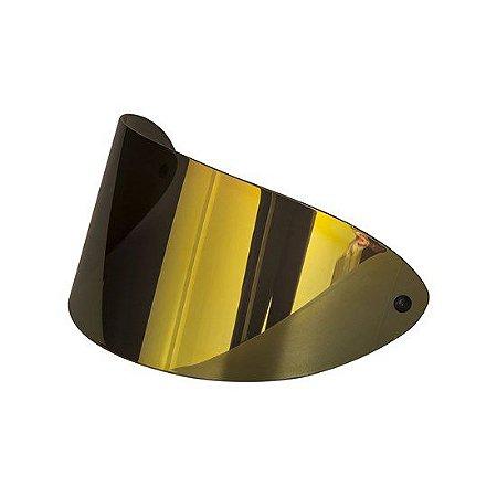 Viseira San Marino 2mm Antirisco Dourada