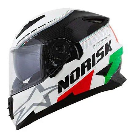 Capacete Norisk FF302 Grand Prix Italy C/Óculos