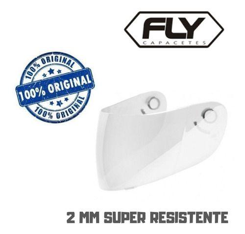Viseira Fly F7 2mm Cristal Original