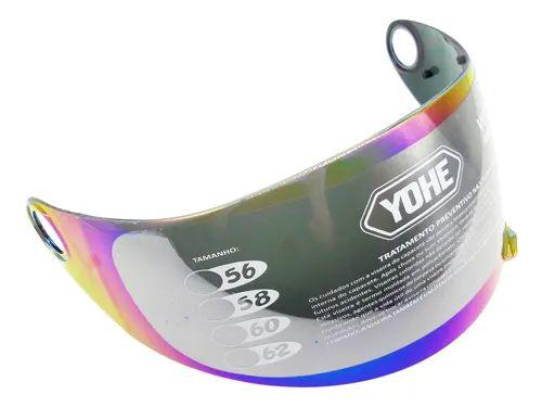 Viseira Helt yohe Advance Colorida
