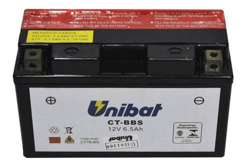 Bateria Selada Tt-r250/klx400r/daytona675/drz400 Unibat 6,5a