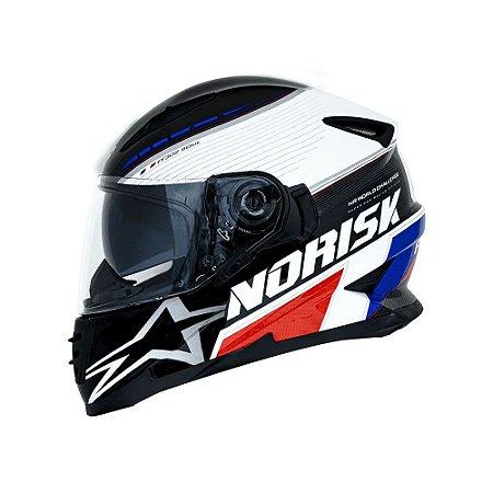Capacete Norisk FF302 Grand Prix France C/Óculos
