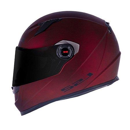 Capacete LS2 FF358 Monocolor Matte Red