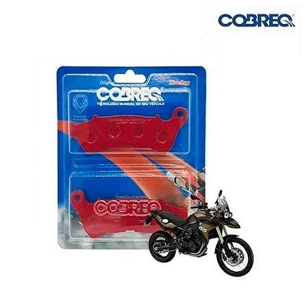 PASTILHA FREIO XT660/CB500/MT03 DIANT COBREQ