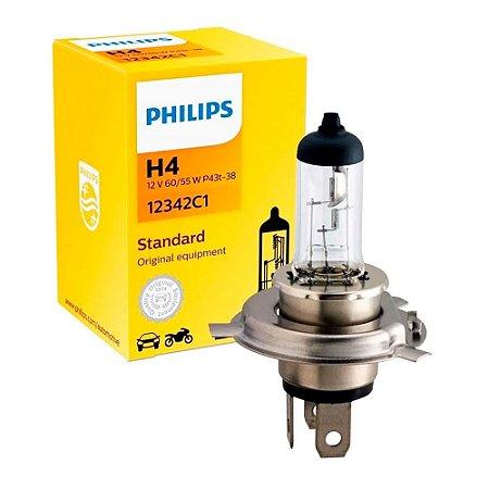 Lampada Farol H4 60/55w Cb300r/Falcon/Nc700/Cb500 Philips