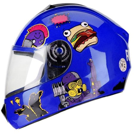 Capacete Fly Fun Game Azul
