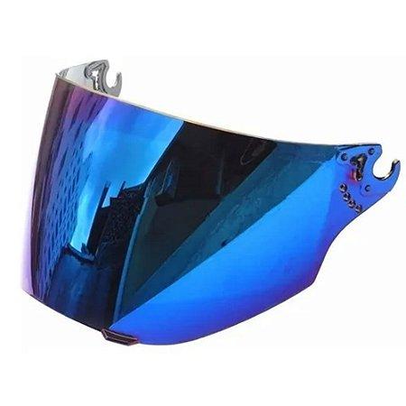 Viseira Bieffe 3 Sport Metalizada Azul Original