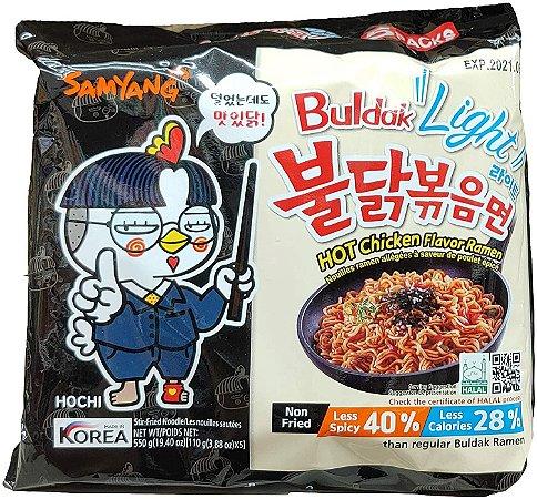 Macarrão Coreano Hot Chicken Buldak LIGHT (Muito Picante) - 110g