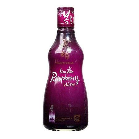 Vinho Coreano de Framboesa - SEONUNSAN BOKBUNJA - 375ml