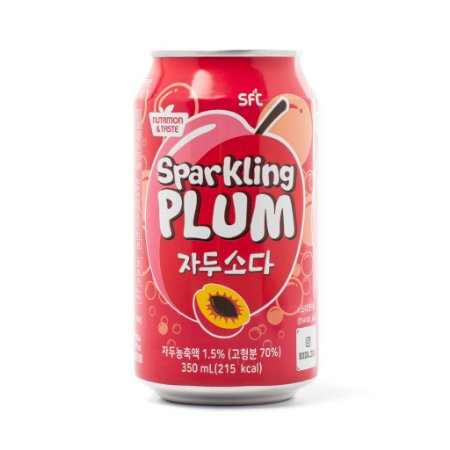 Refrigerante Coreano Sparkling Plum (Ameixa) - 350ml