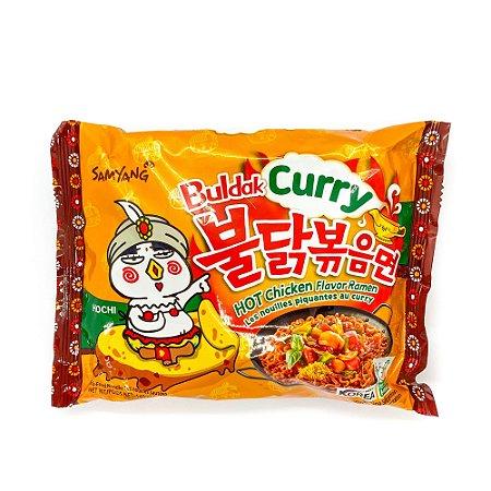 Macarrão Coreano Hot Chicken Buldak CURRY (Muito Picante) - 140g