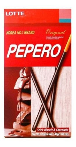 Pepero Sabor Chocolate 47g