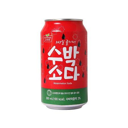 Refrigerante Coreano Watermelon Soda - Melancia 350ml