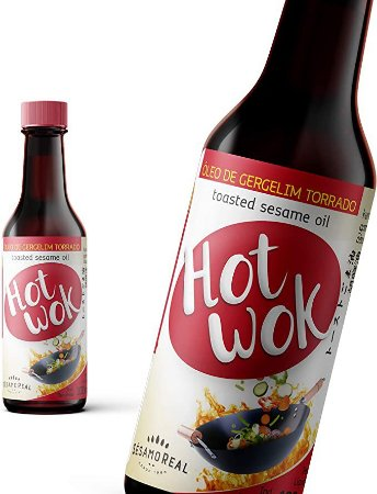 Óleo de Gergelim Torrado Hot Wok - 250ml