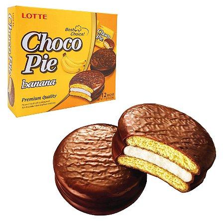 Choco Pie Marshmallow com Chocolate & BANANA 30g - UNIDADE