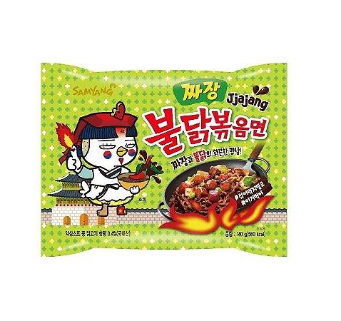 Macarrão Coreano Hot Chicken Ramen Jjajang (Muito Picante) Bowl - 140g