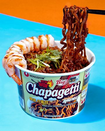 Macarrão Coreano Instantâneo CHAPAGHETTI bowl  - 114g (P/ Microondas)