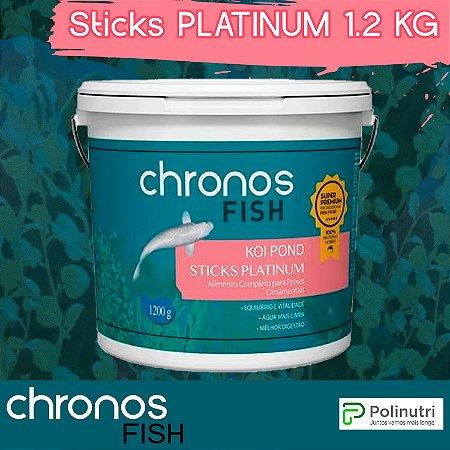 CHRONOS FISH - Koi Sticks Platinum 1.2 kg - Polinutri
