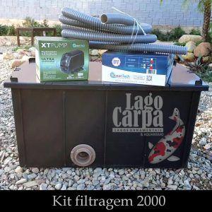 Filtra até 2.000 - Lago Carpa