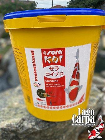RAÇÃO SERA KOI SPIRULINA - BALDE 7 kg