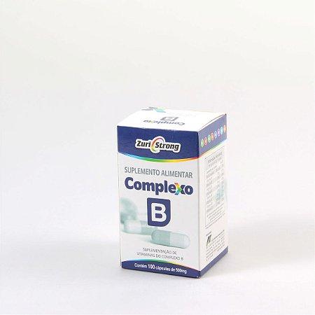Complexo B - 500 Mg - 100 Cápsulas - Zuri Strong