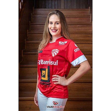 Camiseta São Luiz Vermelho e Branco