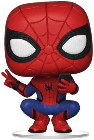 SPIDER MAN (HERO SUIT) - FAR FROM HOME - FUNKO POP  #468