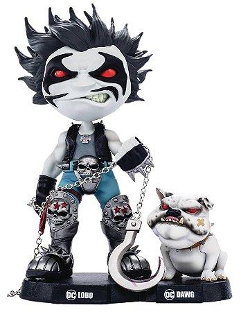 Estátua Lobo and Dawg - DC Comics - MiniCo - Iron Studios