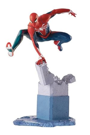 Estátua Spider-Man Advanced Suit - Gameverse Diorama Statue - Pop Culture Shock