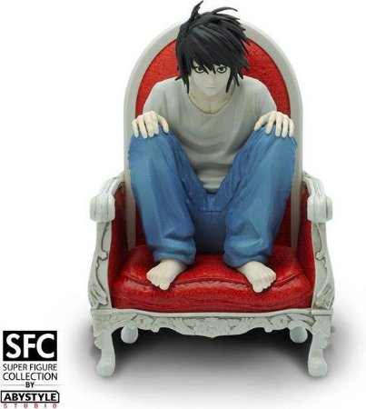 Estatua - Death Note Super Figure Collection - L