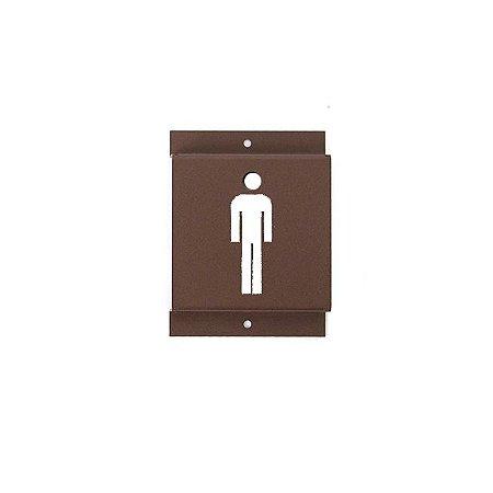 Identificador de Banheiro Masculino