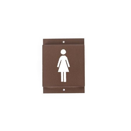 Identificador de Banheiro Feminino