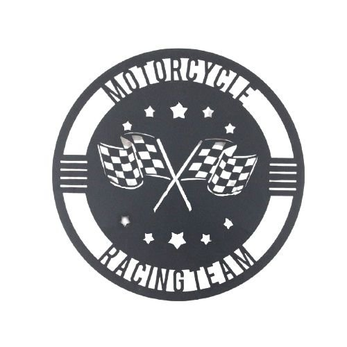 Escultura de parede Motorcycle
