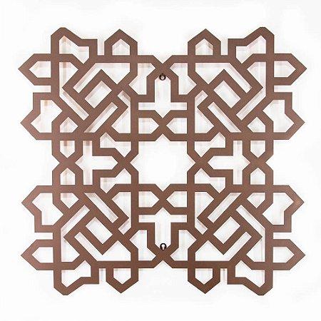 Escultura Quadrado Árabe