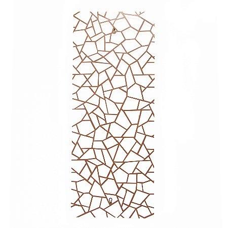 Escultura de Parede Quadrados Irregulares