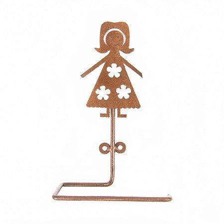 Porta Papel Higiênico Garota