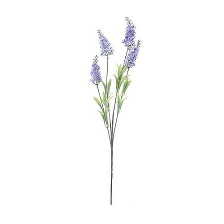 Pick com 5 Galhos Lilás de Lavanda 47 cm