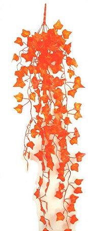 Pendente Folhagem com Folhas de Hera Laranja 90 cm