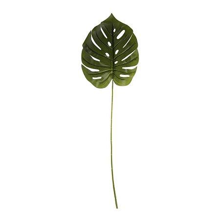 Galho Folha de Costela de Adão Grande 62 cm