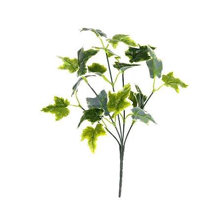 Galho Mini Haste de Folha Hera Artificial 34 cm