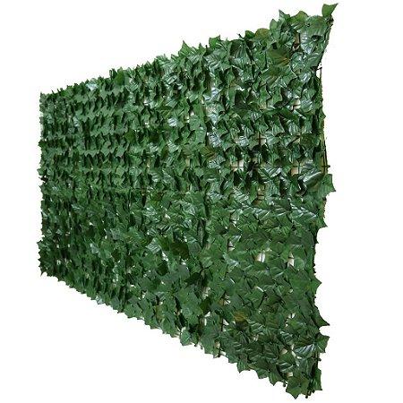 Muro Inglês com Folha de Hera Artificial 2 m x 1 m