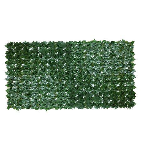 Muro Inglês com Folha de Hera Artificial 3 m x 1 m