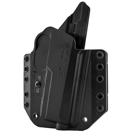 COLDRE KYDEX EXTERNO BRAVO – OWB 3.0 – SIG SAUER P320 COMPACT CARRY M18
