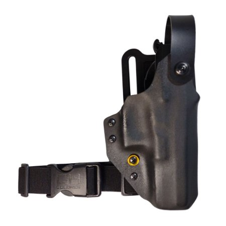 COLDRE KYDEX OWB 2R - EXTERNO – SIG SAUER – P320 (FULL M17) (COMPACT CARRY M18)