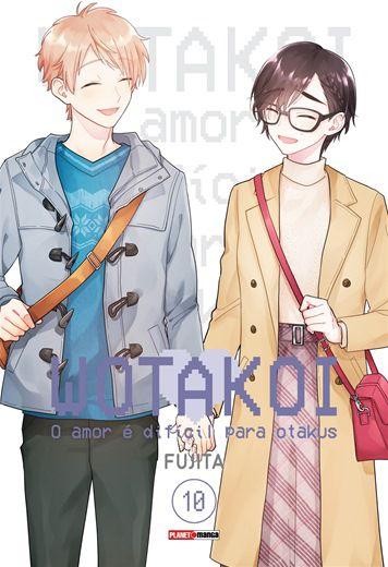 Wotakoi: O Amor é difícil para Otakus - 10 (capa variante)