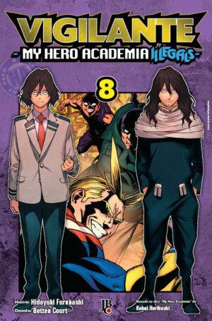 Vigilante My Hero Academia Illegals Vol. 8