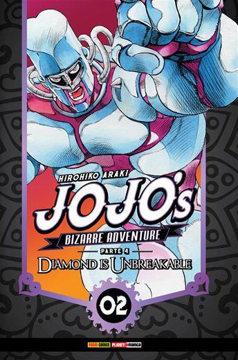 Jojo's Bizarre Adventures - 02 - Parte 4: Diamond is Unbreakable