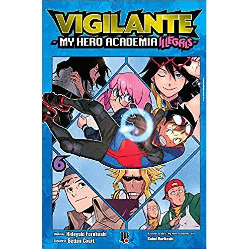 Vigilante My Hero Academia Illegals Vol. 6