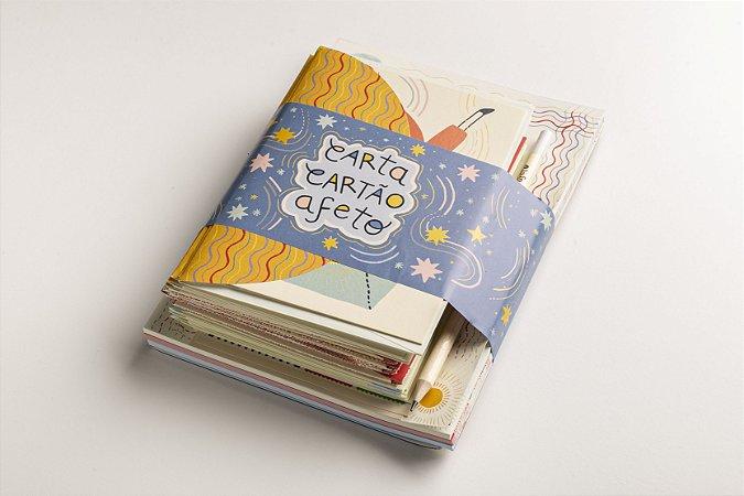 Kit Cartilha Carta Cartão e Afeto