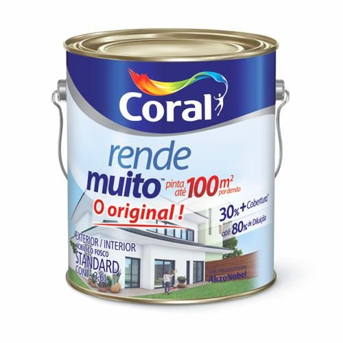 Tinta Coral Rende Muito 3,6L – Branco